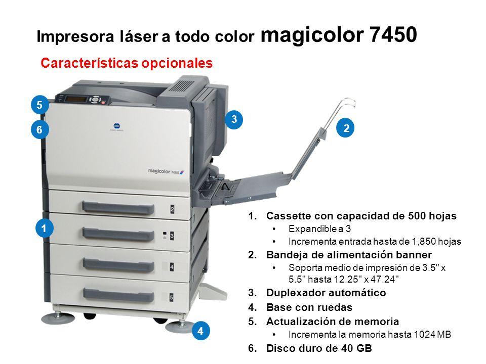 Impresora láser a todo color magicolor 7450