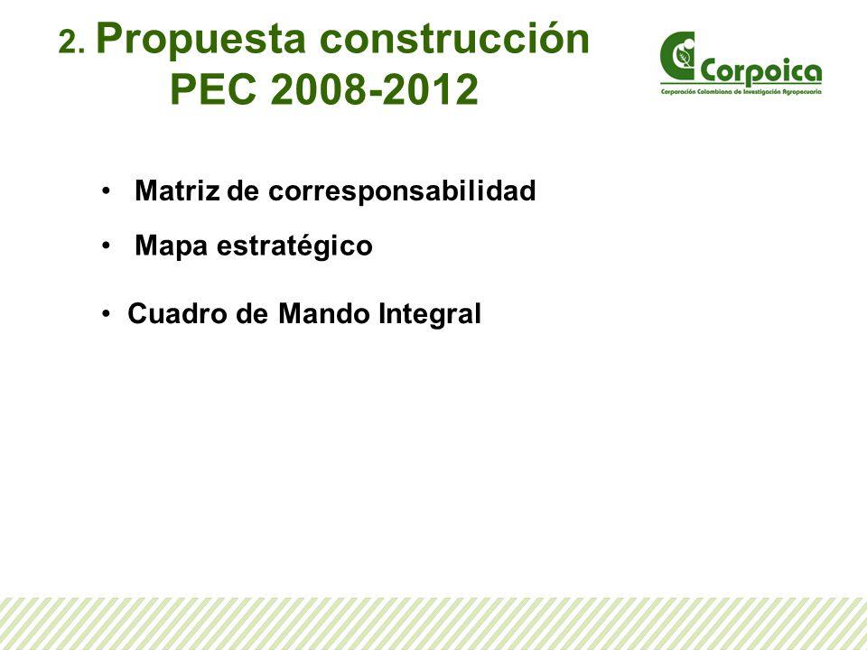 2. Propuesta construcción PEC 2008-2012