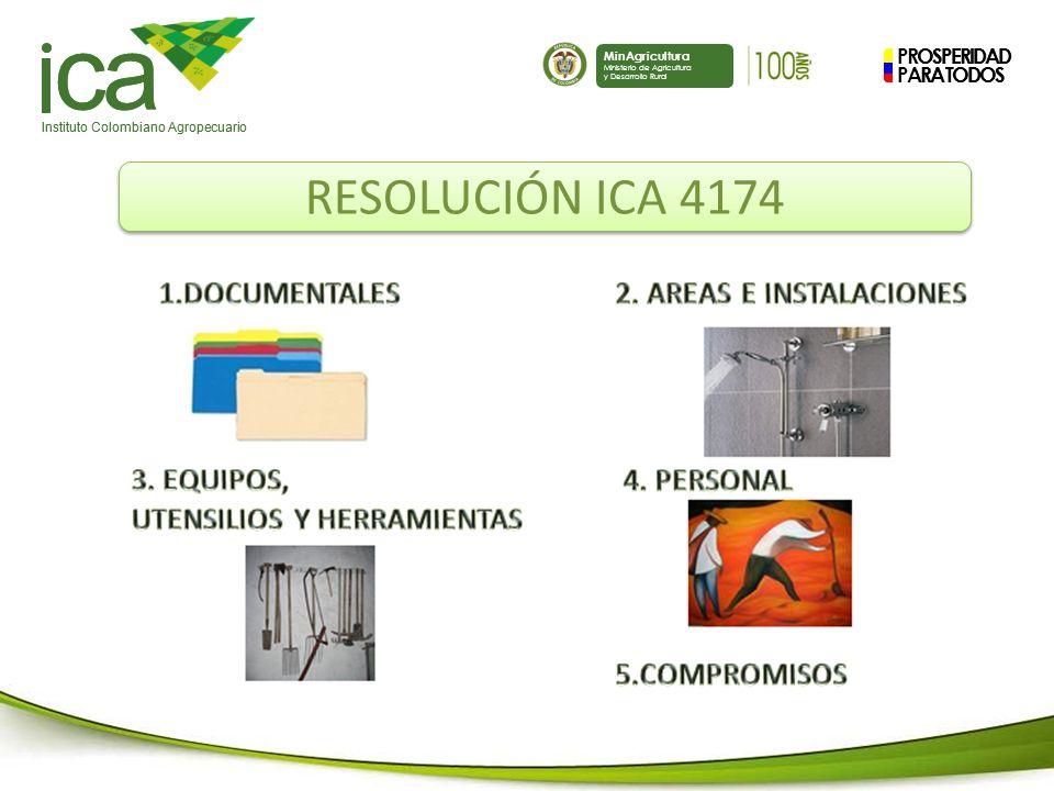 ca RESOLUCIÓN ICA 4174 PROSPERIDAD PARA TODOS