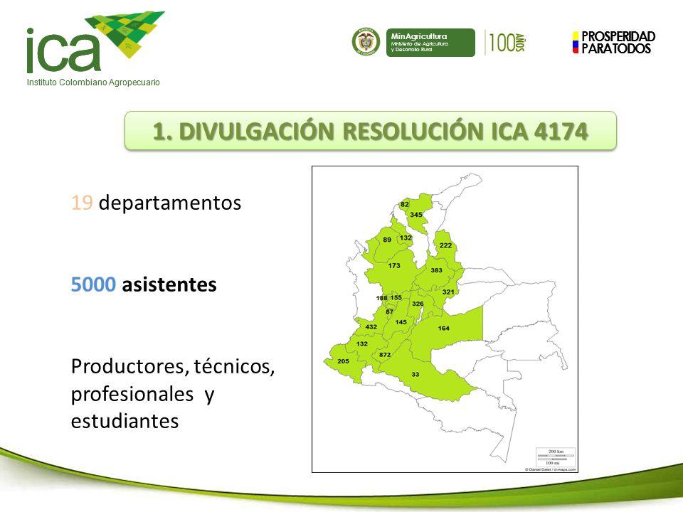 1. DIVULGACIÓN RESOLUCIÓN ICA 4174