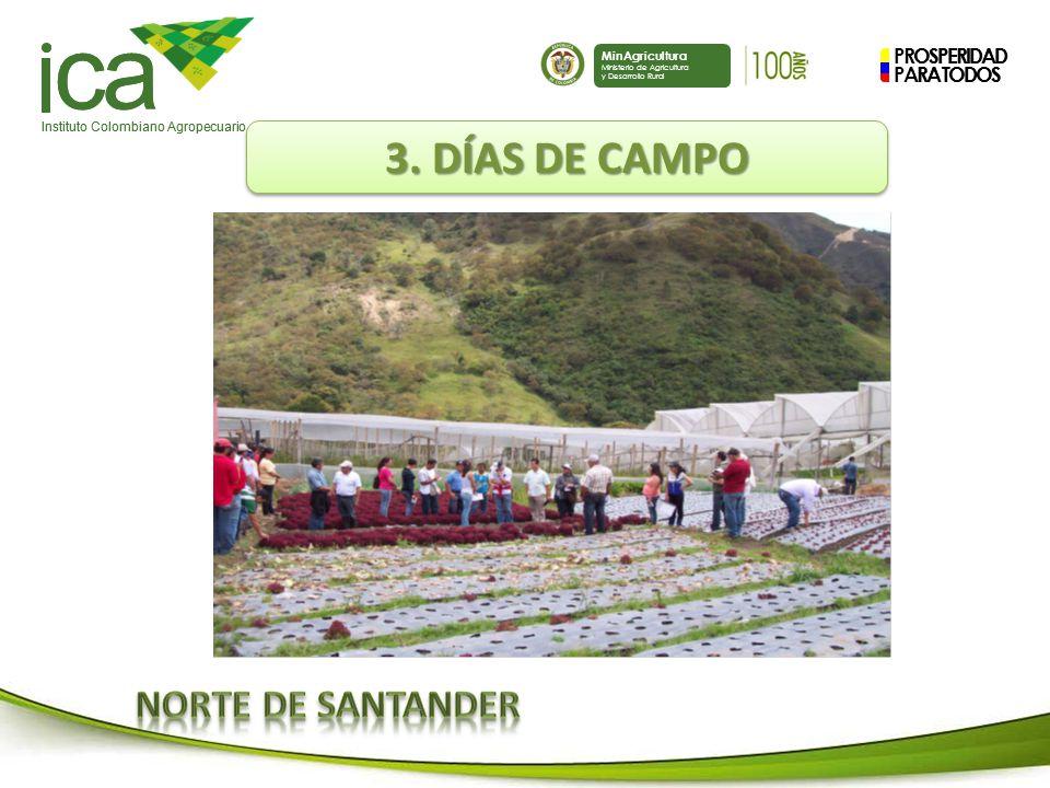 ca 3. DÍAS DE CAMPO NORTE DE SANTANDER PROSPERIDAD PARA TODOS
