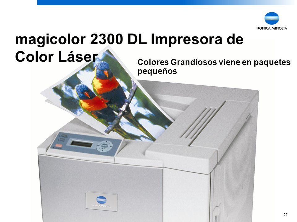magicolor 2300 DL Impresora de Color Láser