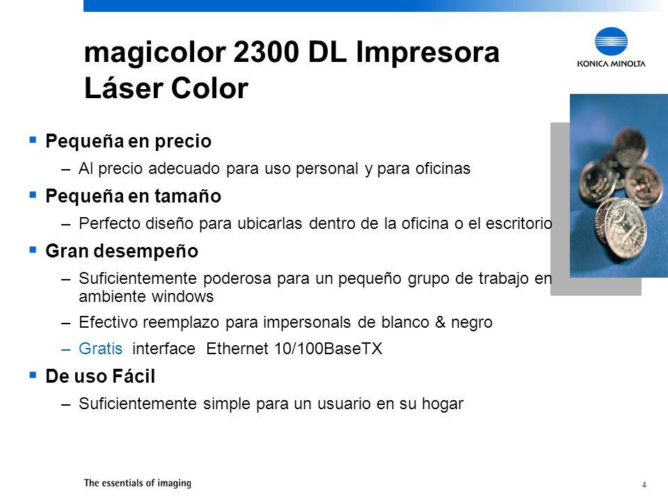 magicolor 2300 DL Impresora Láser Color