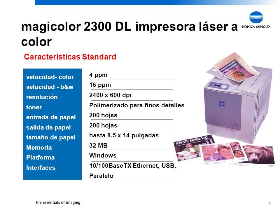 magicolor 2300 DL impresora láser a color