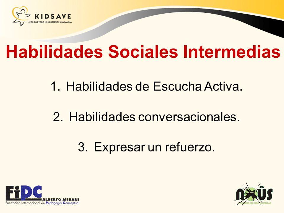 Habilidades Sociales Intermedias