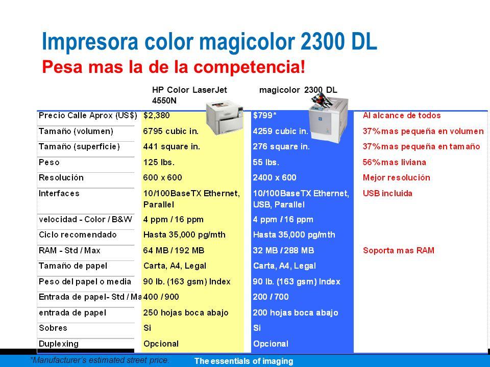 Impresora color magicolor 2300 DL