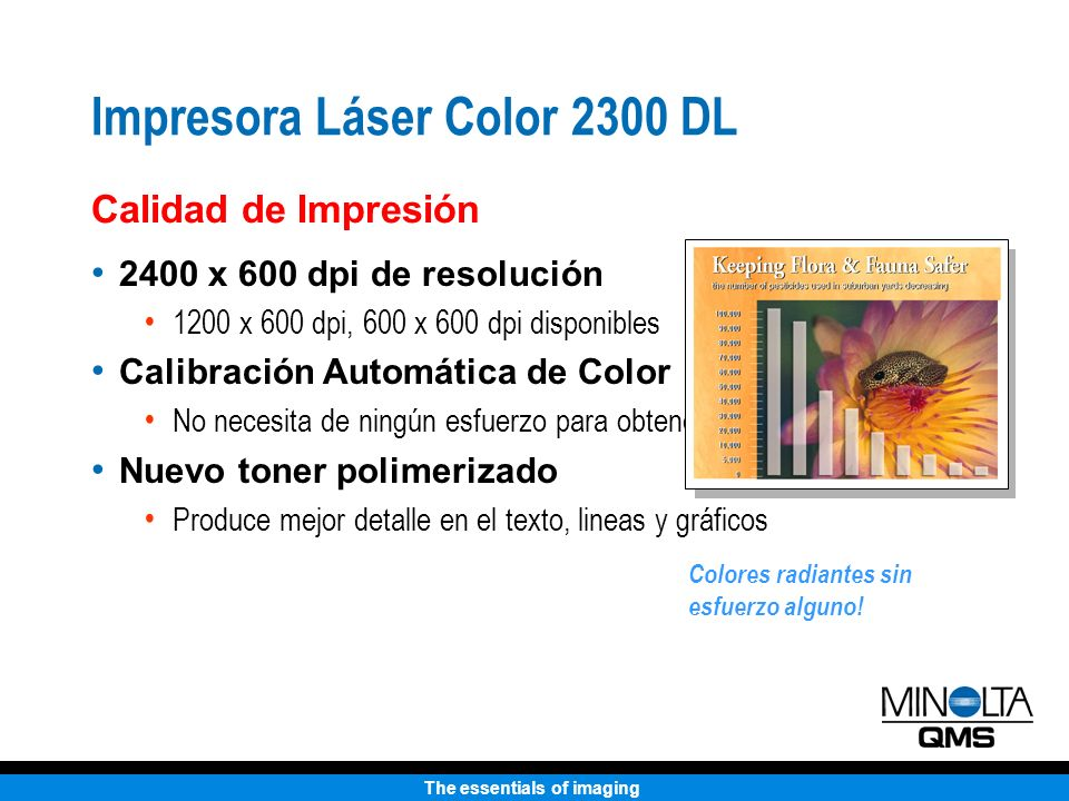 Impresora Láser Color 2300 DL