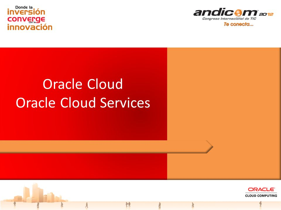 Oracle Cloud Oracle Cloud Services