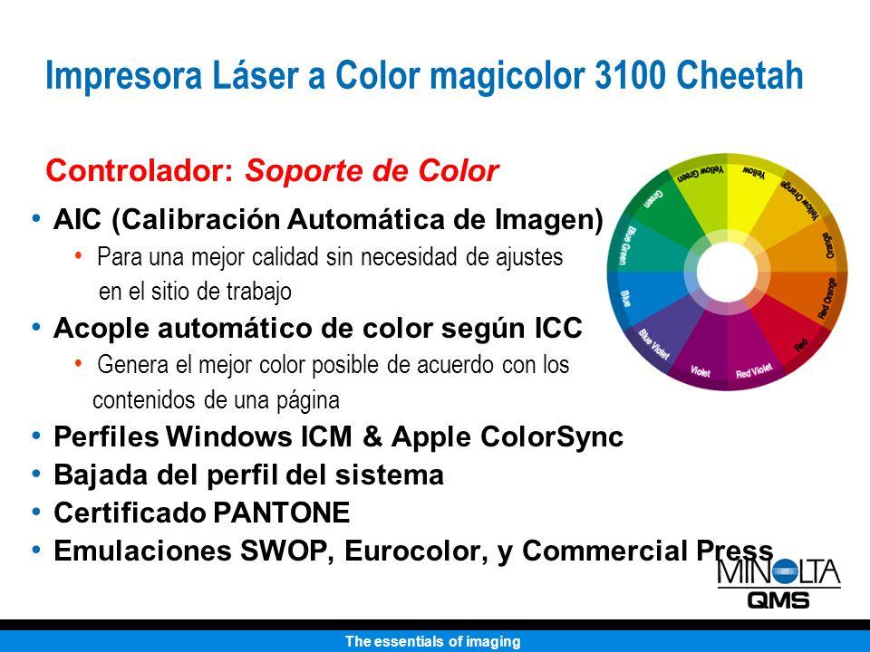 Impresora Láser a Color magicolor 3100 Cheetah