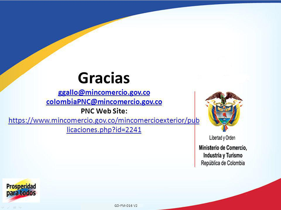 Gracias ggallo@mincomercio. gov. co colombiaPNC@mincomercio. gov