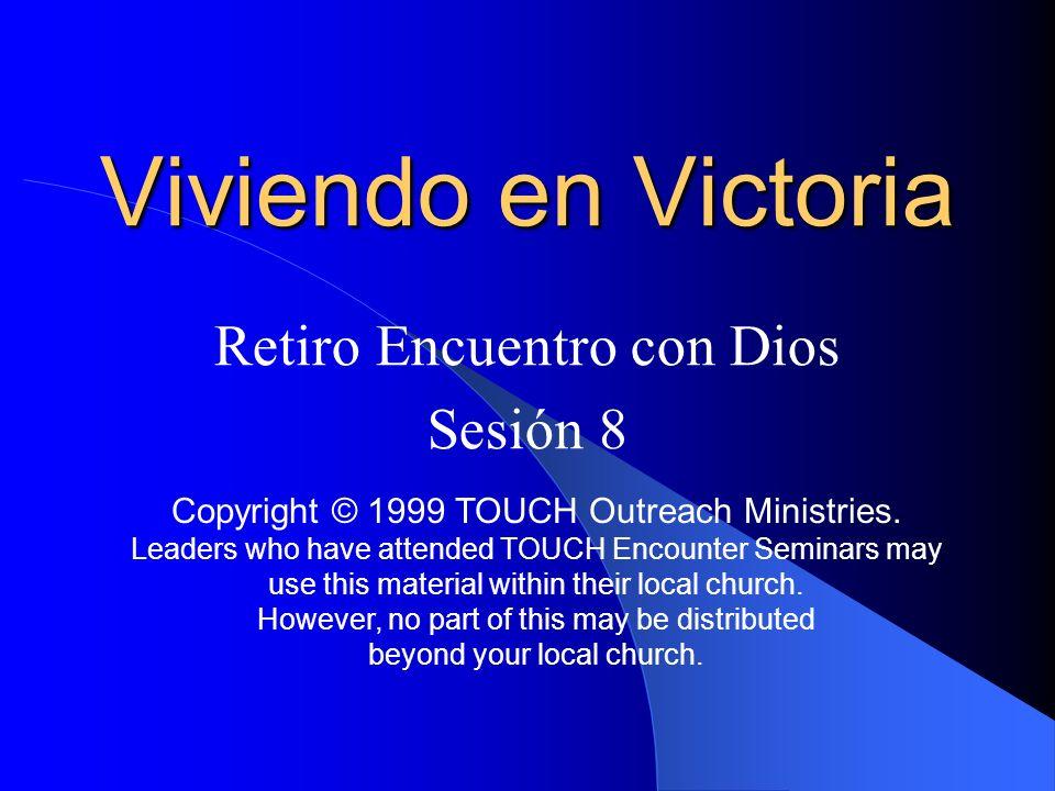 Retiro Encuentro con Dios Sesión 8