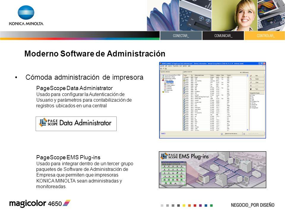 Moderno Software de Administración