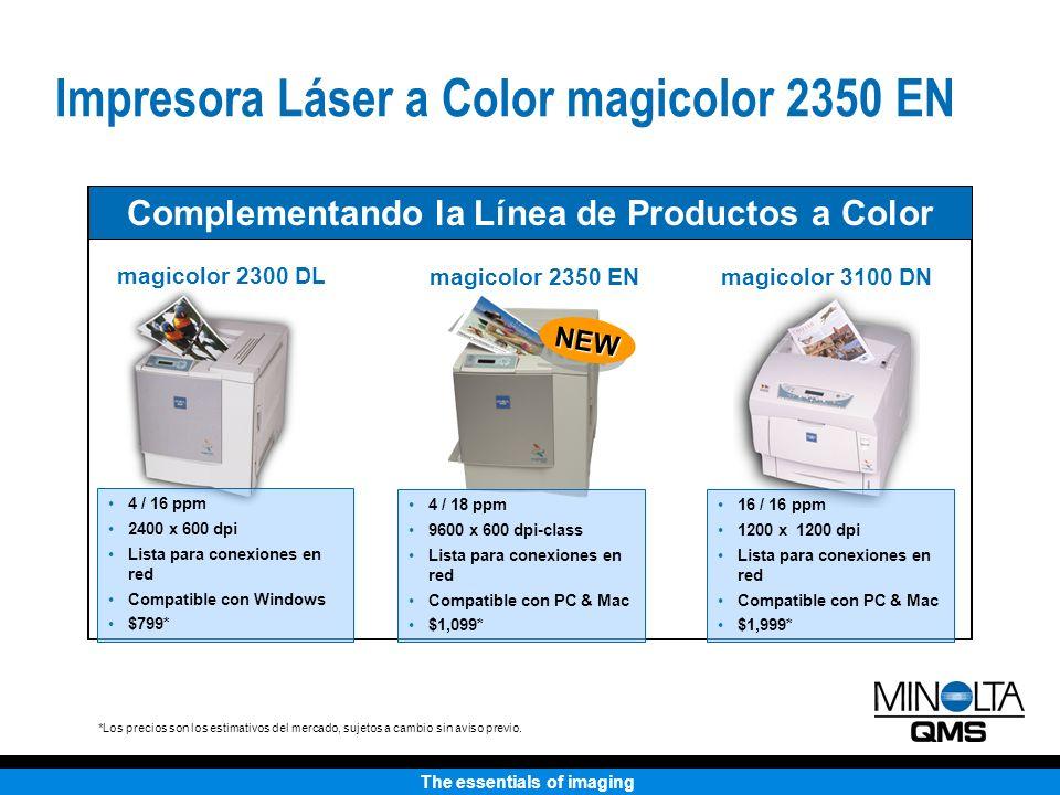 Complementando la Línea de Productos a Color