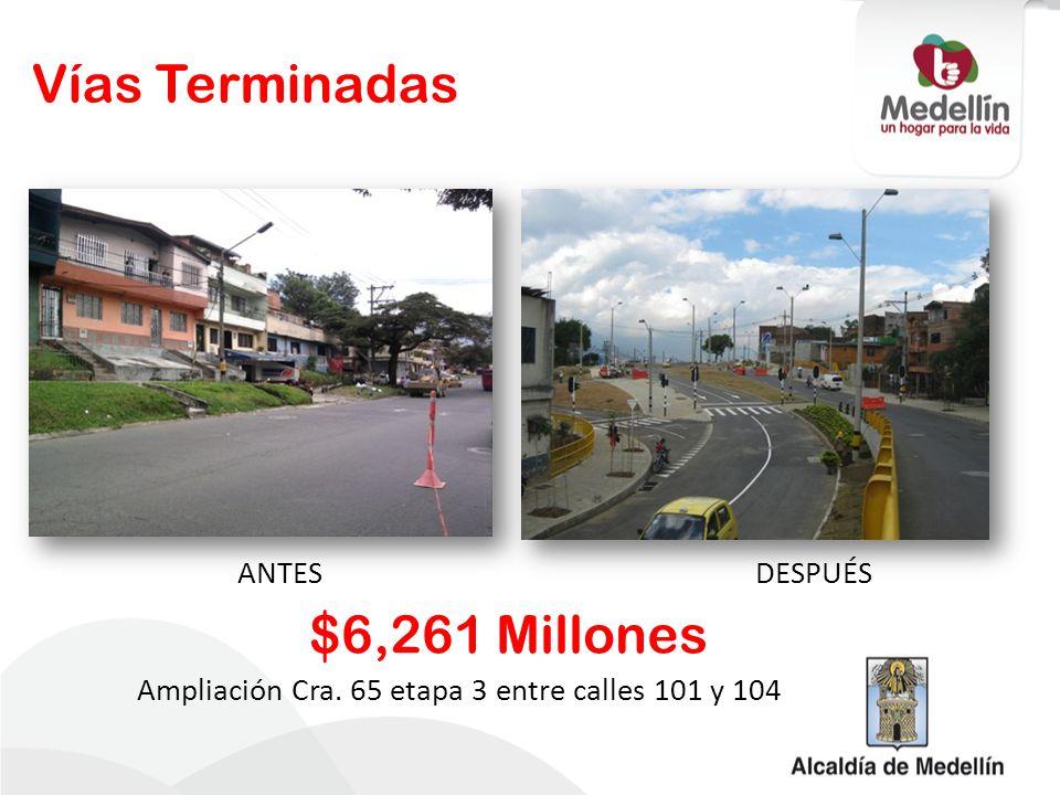 Ampliación Cra. 65 etapa 3 entre calles 101 y 104