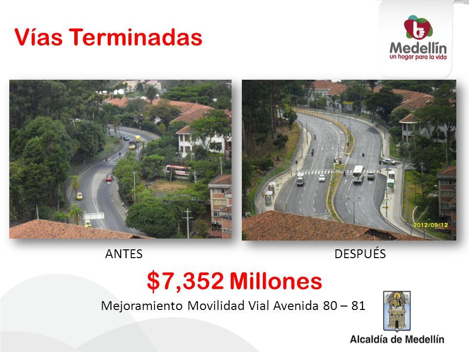 Mejoramiento Movilidad Vial Avenida 80 – 81