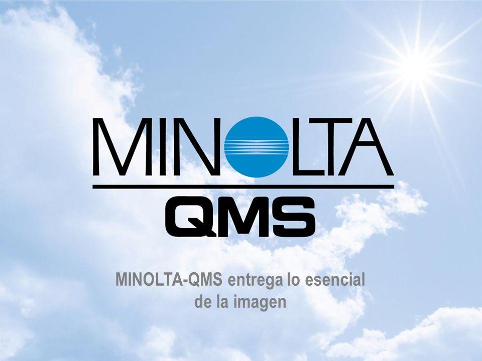 MINOLTA-QMS entrega lo esencial de la imagen