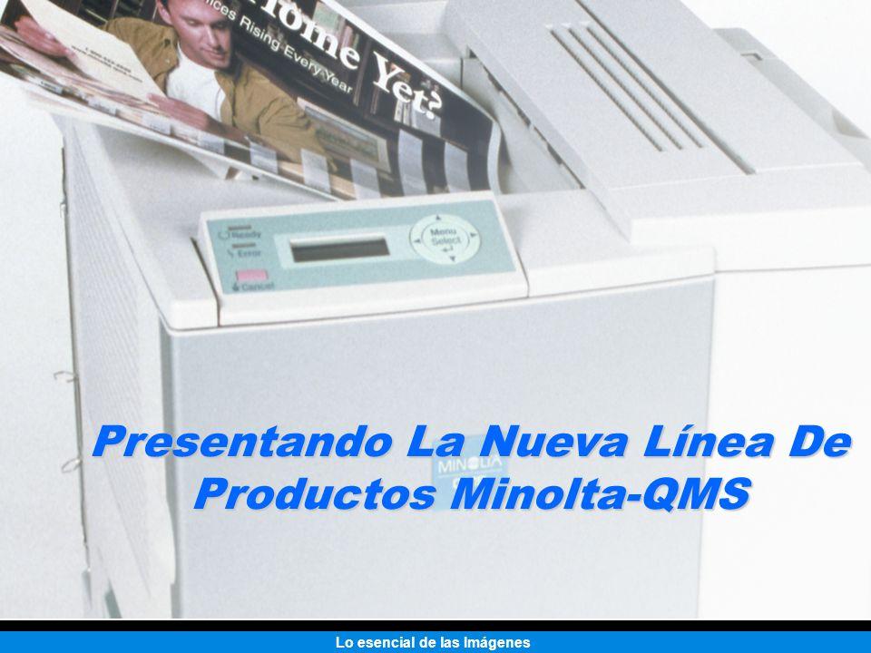 Presentando La Nueva Línea De Productos Minolta-QMS