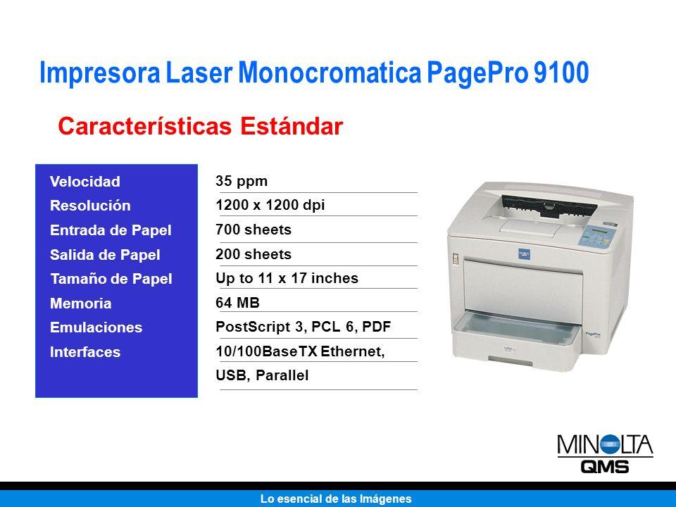 Impresora Laser Monocromatica PagePro 9100
