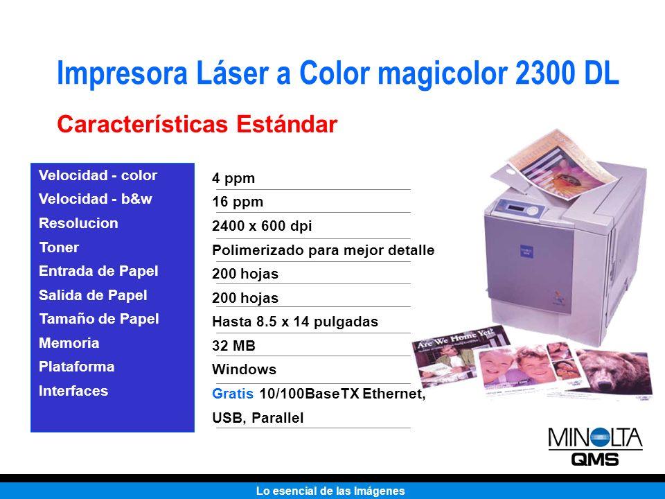 Impresora Láser a Color magicolor 2300 DL