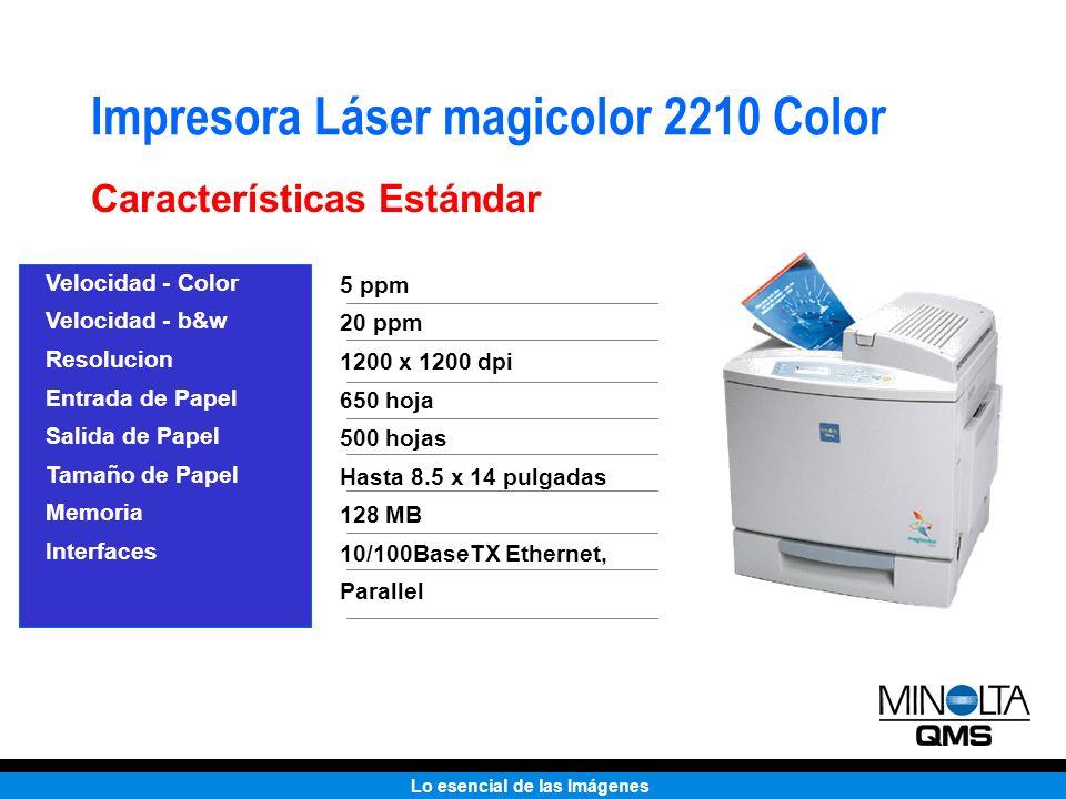 Impresora Láser magicolor 2210 Color