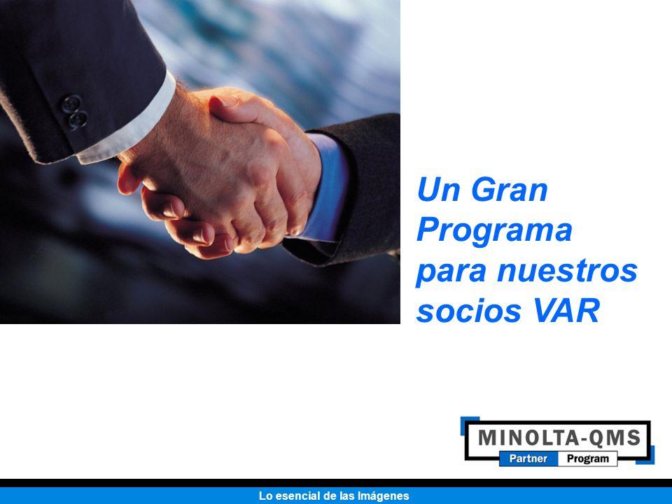Un Gran Programa para nuestros socios VAR