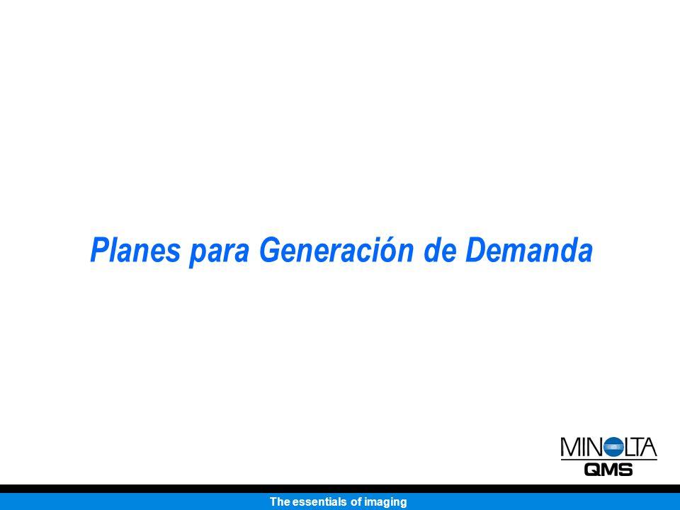 Planes para Generación de Demanda