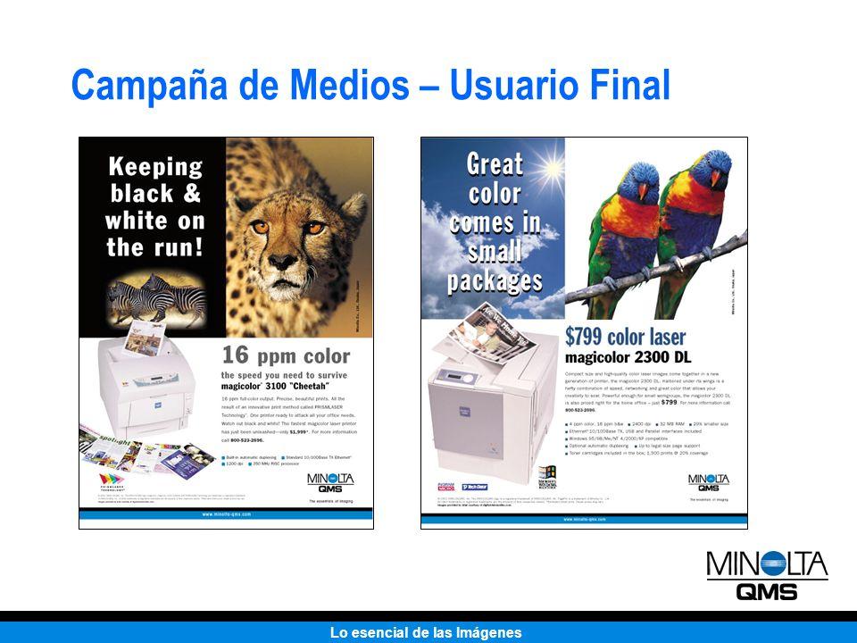 Campaña de Medios – Usuario Final