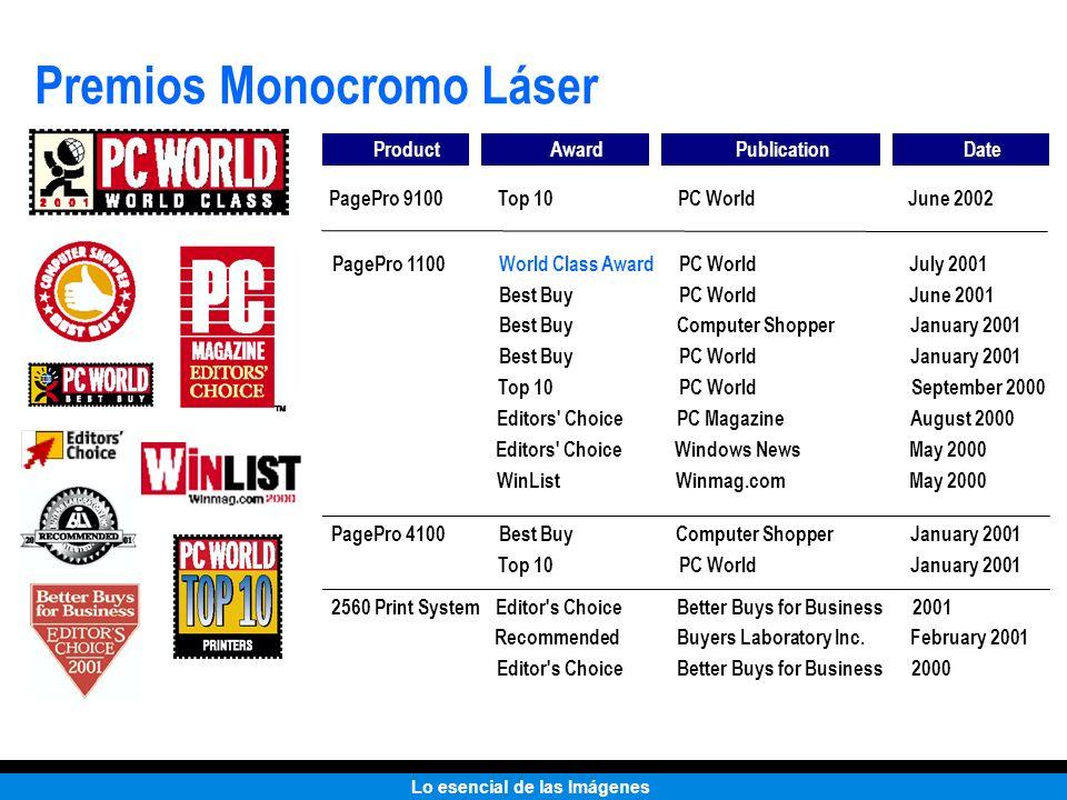 Premios Monocromo Láser