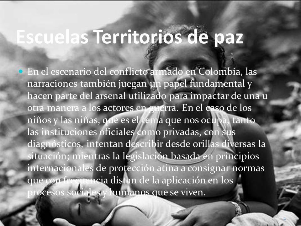 Escuelas Territorios de paz