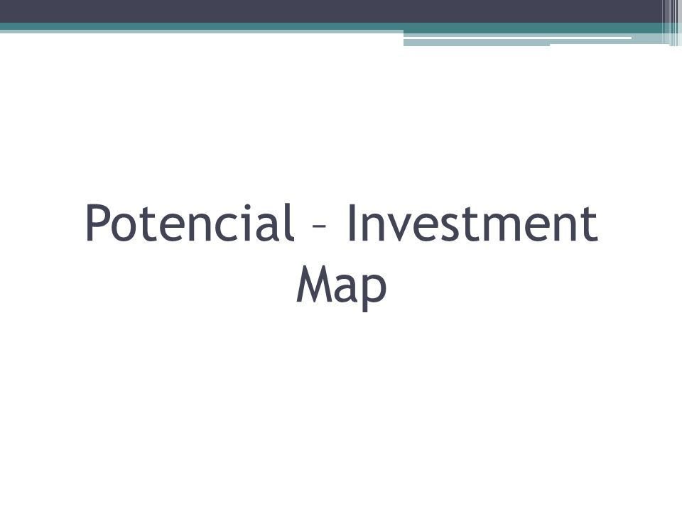 Potencial – Investment Map