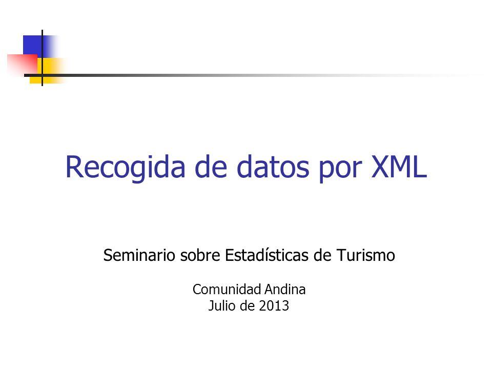 Recogida de datos por XML