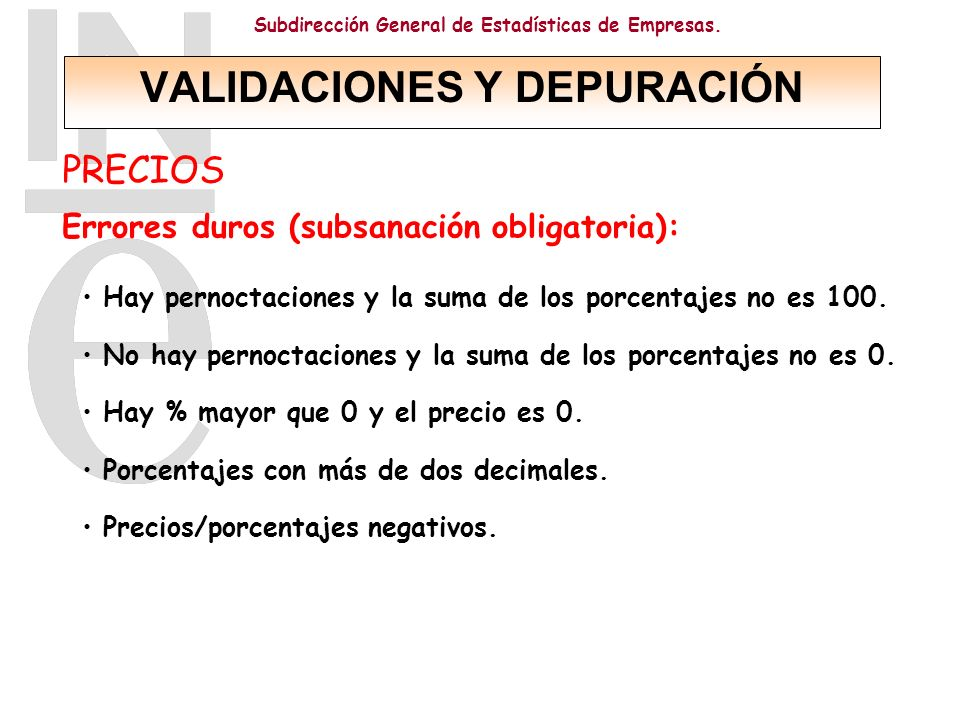 VALIDACIONES Y DEPURACIÓN