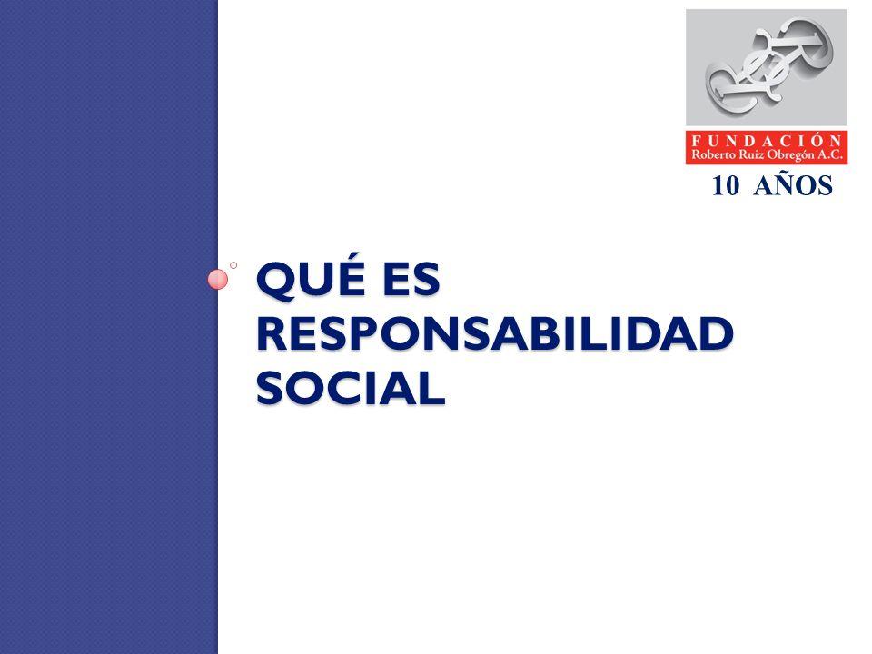 Qué es responsabilidad social