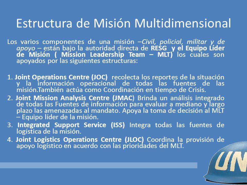 Estructura de Misión Multidimensional