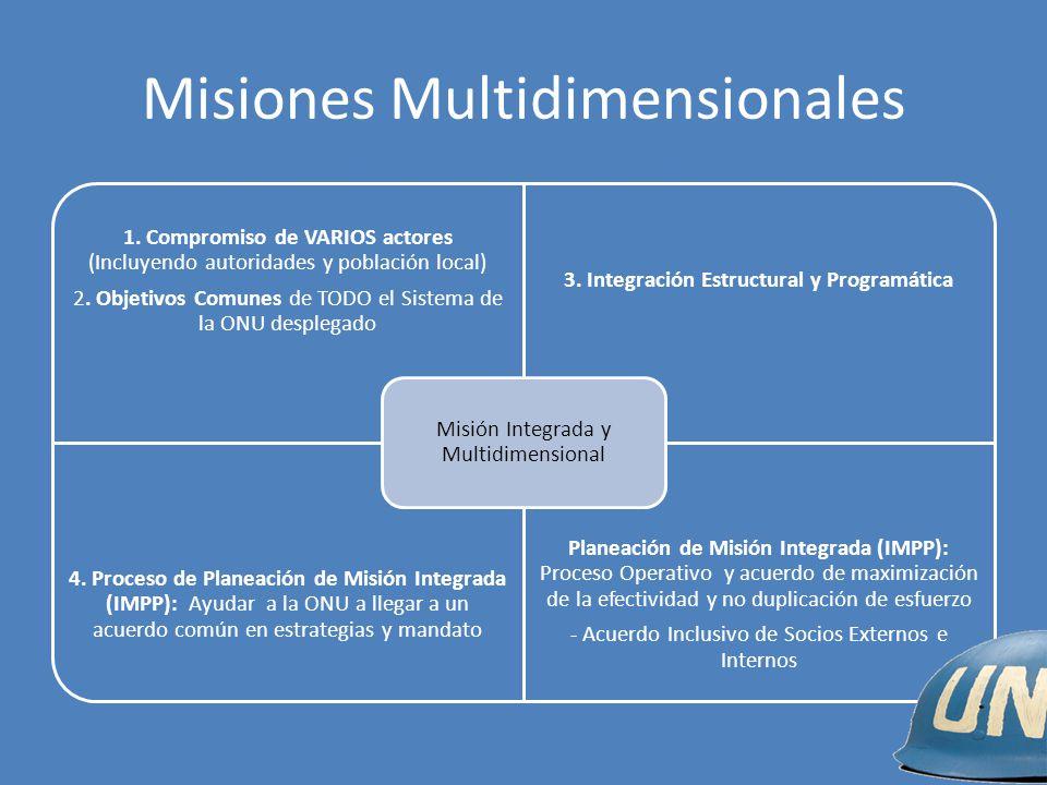 Misiones Multidimensionales