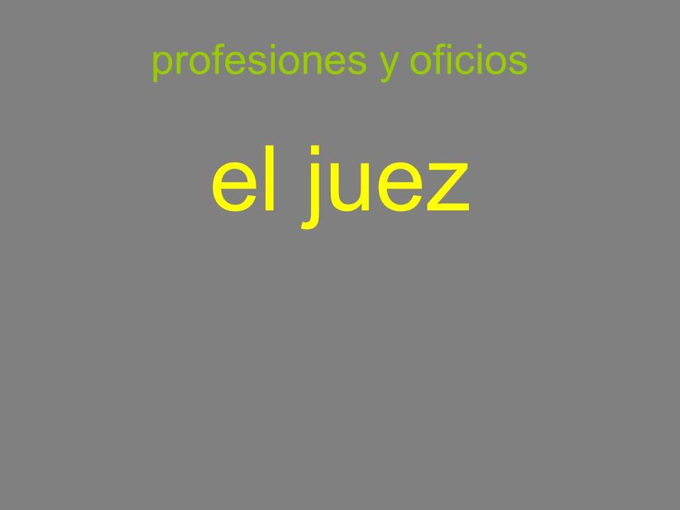 profesiones y oficios el juez