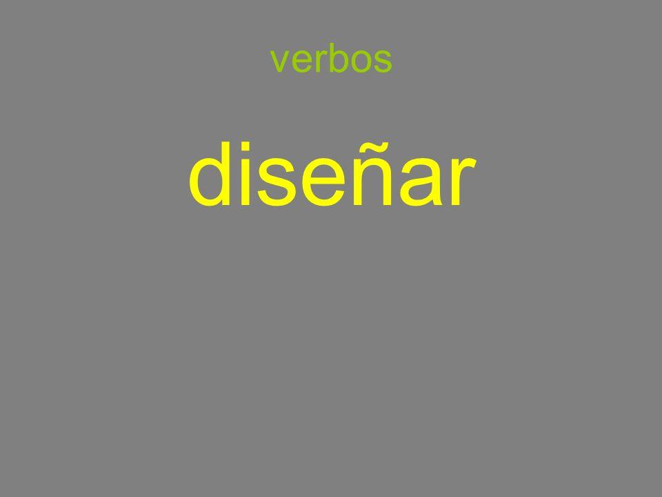 verbos diseñar