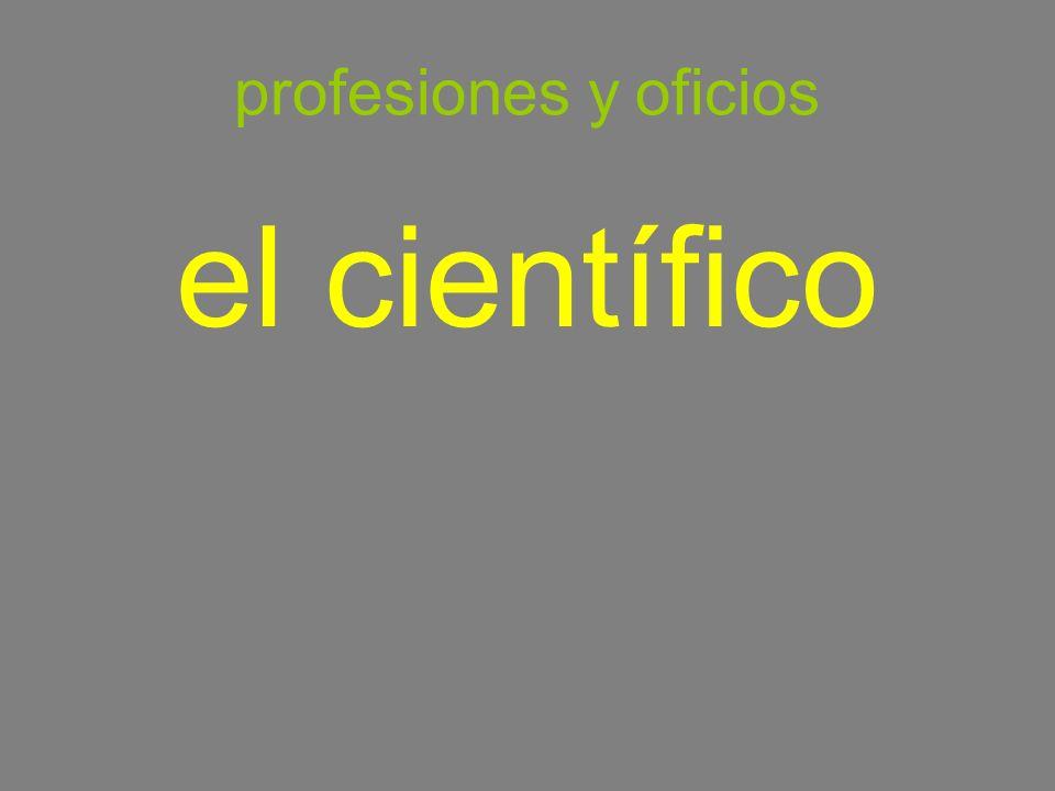 profesiones y oficios el científico