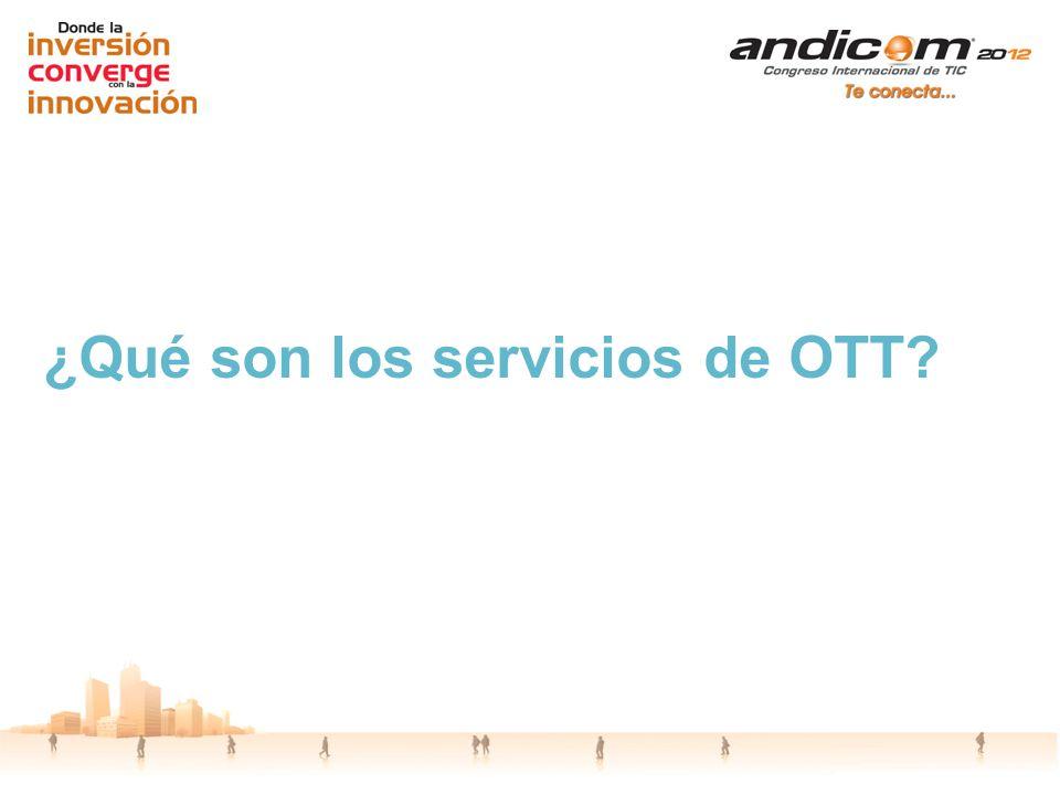 ¿Qué son los servicios de OTT