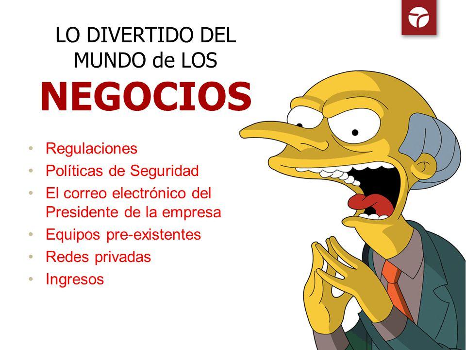 LO DIVERTIDO DEL MUNDO de LOS NEGOCIOS