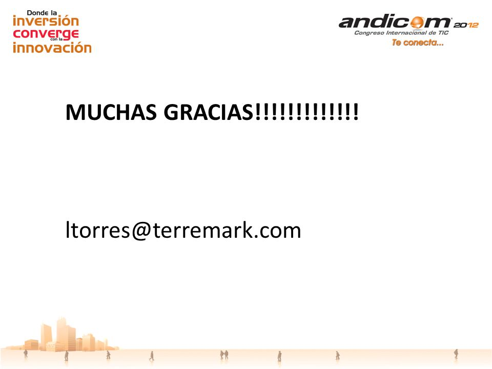 MUCHAS GRACIAS!!!!!!!!!!!!! ltorres@terremark.com
