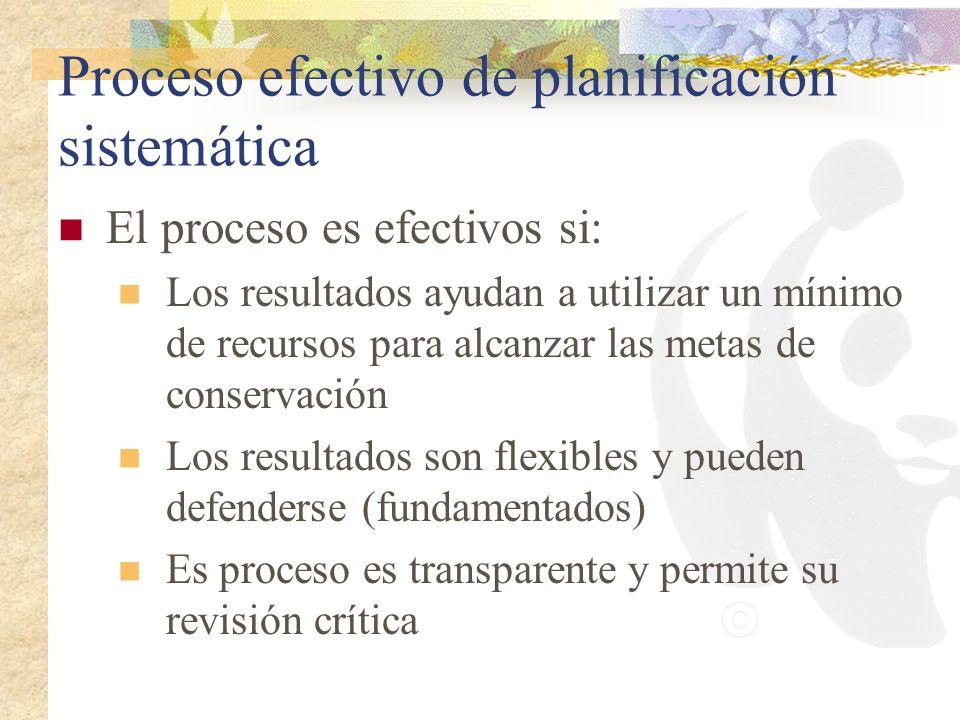 Proceso efectivo de planificación sistemática