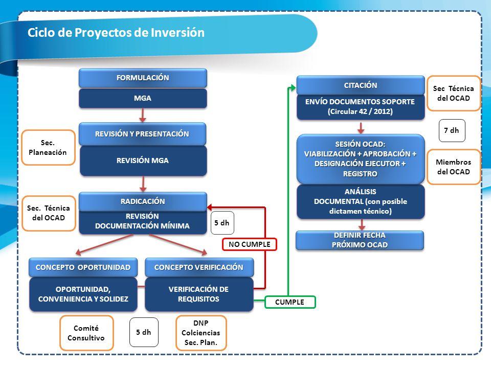 Ciclo de Proyectos de Inversión