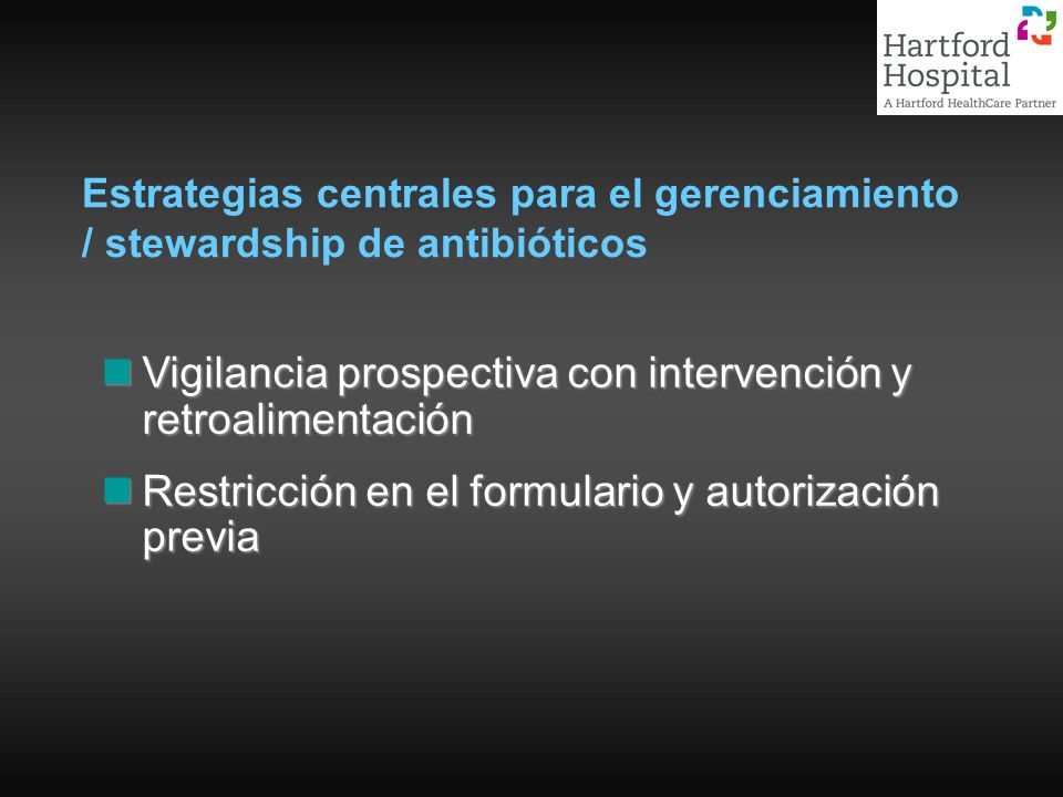 Vigilancia prospectiva con intervención y retroalimentación