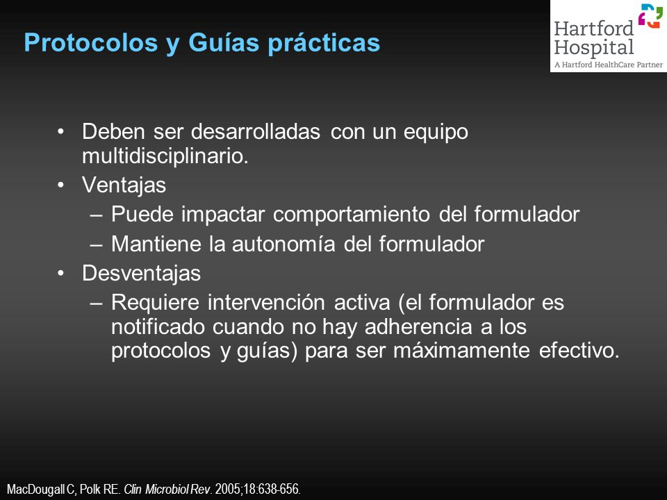 Protocolos y Guías prácticas
