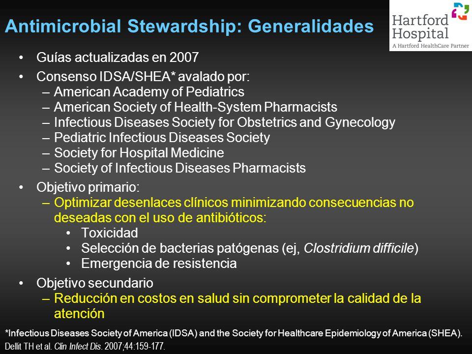 Antimicrobial Stewardship: Generalidades