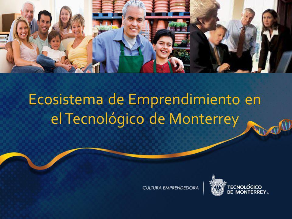 Ecosistema de Emprendimiento en el Tecnológico de Monterrey