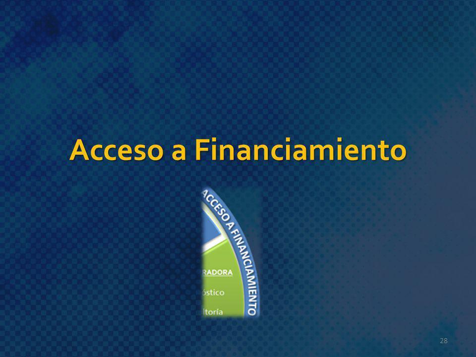 Acceso a Financiamiento