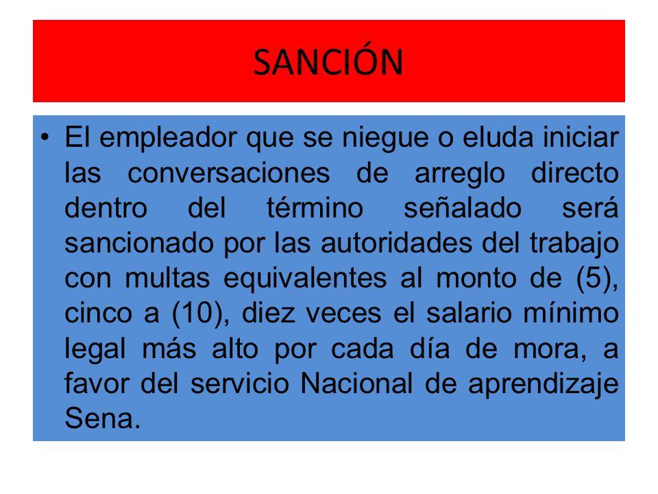 SANCIÓN