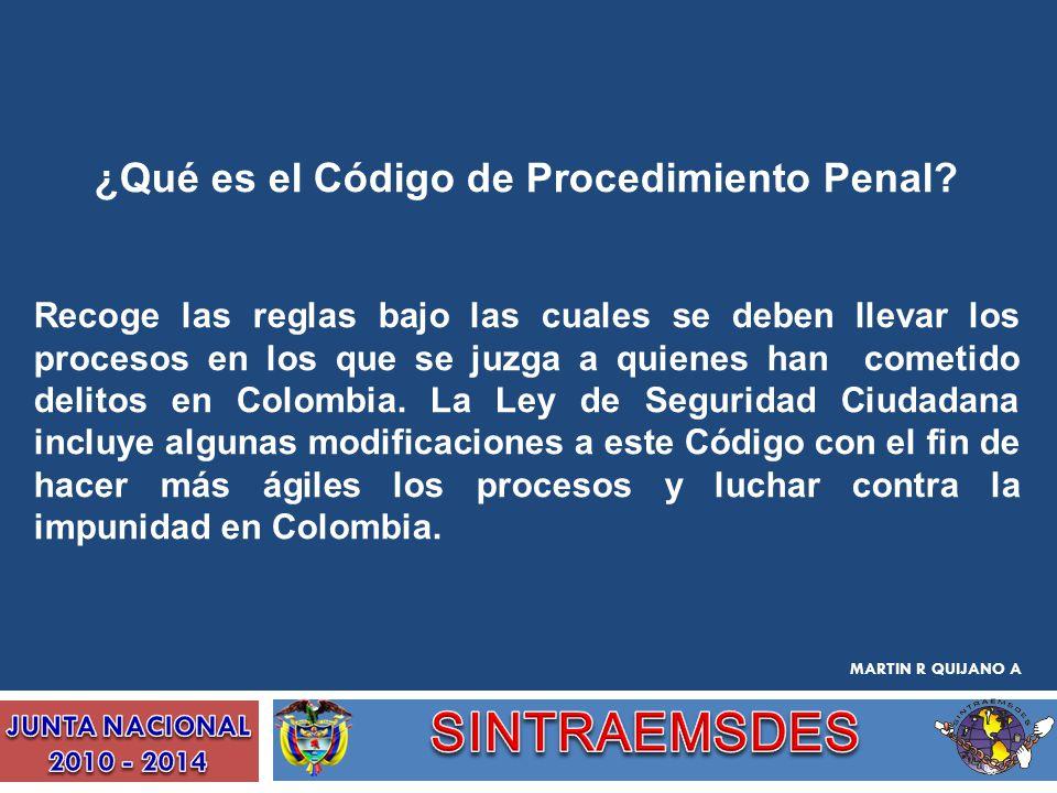 ¿Qué es el Código de Procedimiento Penal